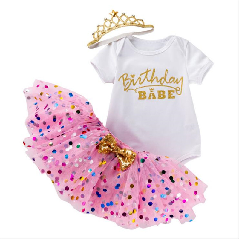 Meu vestido de bebê para a menina vestido de batismo 1st festa de aniversário vestir roupas da criança meninas verão fantasia mini traje colorido dot tutu