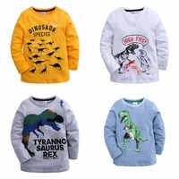 Camisetas gráficas de dinosaurios para niños y niñas