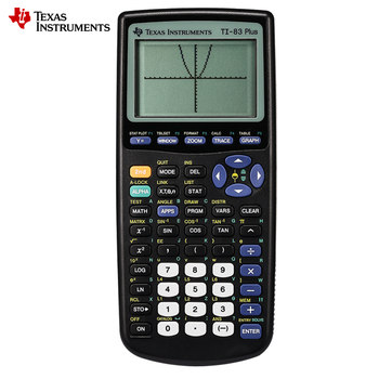Texas Instruments New Ti-83 Plus Graphing Calculator Sale Promotion 10 Led Handheld Calculator Calculatrice