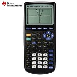 Texas Instruments nowy Ti 83 Plus kalkulator graficzny promocja sprzedaży 10 Led kalkulator ręczny Calculatrice w Kalkulatory od Komputer i biuro na