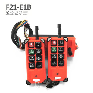 Image 4 - Kostenloser Versand Industrial Wireless Radio Fernbedienung F21 E1B 8 Kanal Tasten Switchs für Uting Hoist Kran
