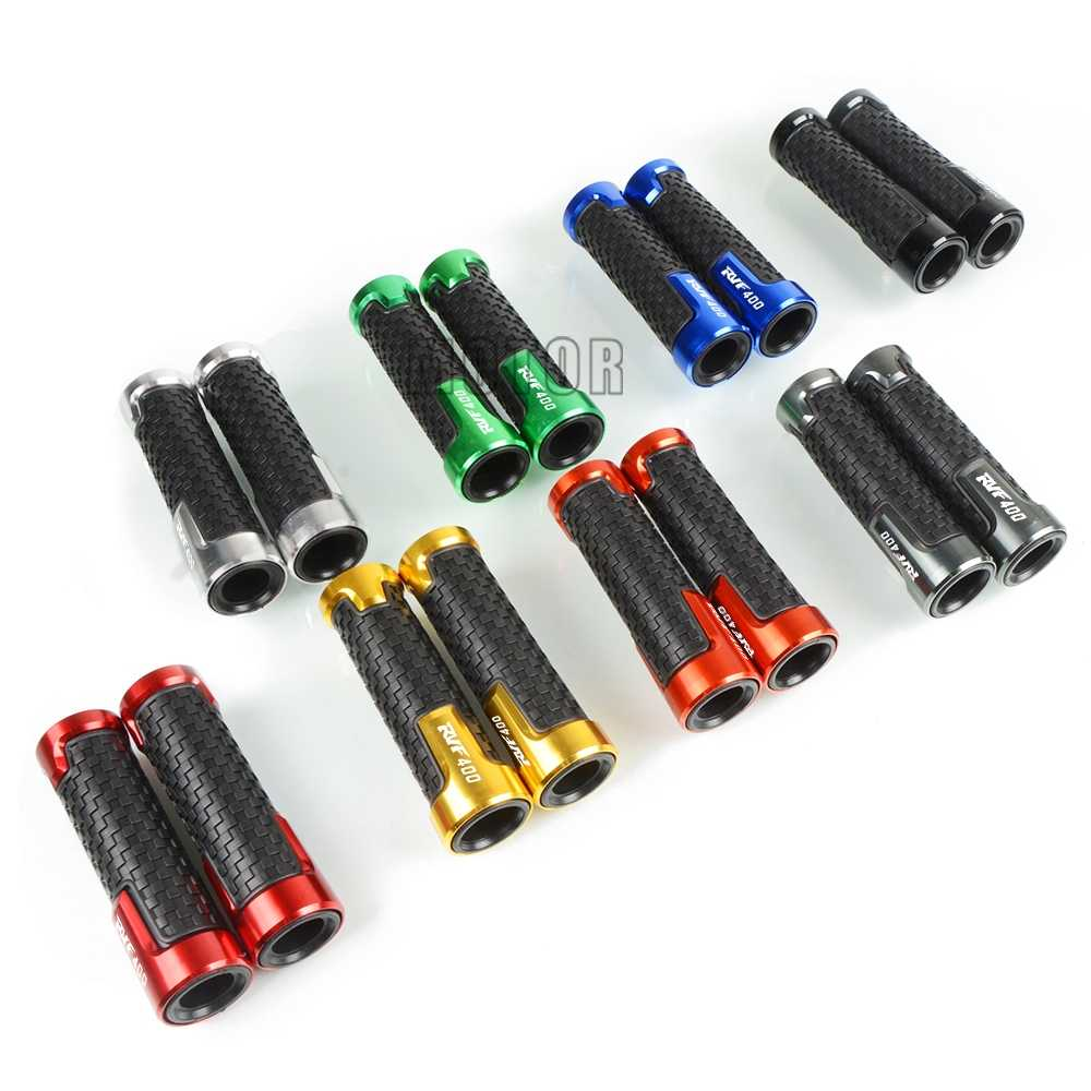 """สำหรับ Honda RVF400 NC35 1994-1996 1995 RVF 400 NC รถจักรยานยนต์ 7/8 """"22 มม.อลูมิเนียมยาง -Slip Handle Bar Handlebar Hand Grips"""
