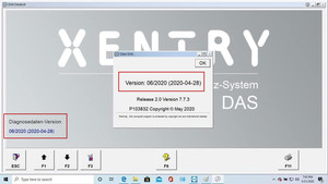Image 4 - 2020.06 MB STAR sd C4/C5/C6  WIN10 64bit profession system software  xentry/DAS install or upgrade online by team viewer