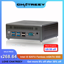 Gaming Computer Mini Pc I5 Intel-Core Fanless Windows-10 with Dual-Lan-Support Triple-Display