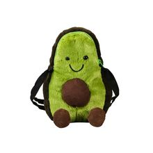 Women Avocado Shape Shoulder Cute Crossbody Bag Tote Messenger Satchel Purse for Girls Kids cute kids satchel with star print and bear shape design