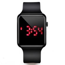 цена на Men LED Digital Watch Silicone Electronic Watch Men Men Sport Watches Men Watch Clock reloj hombre hodinky relogio masculino