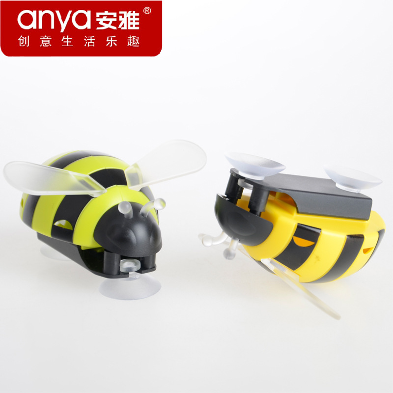 Anya ANYA Creative Toothbrush Holder Suction Toothbrush Holder Small Bee Children for Two-color image
