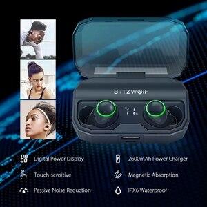 Image 2 - BlitzWolf FYE3S FYE3 TWS gerçek kablosuz Bluetooth 5.0 kulak kulaklık 2600mAh pil şarj dijital güç göstergesi spor kulaklıklar