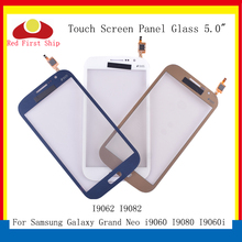 цена на 10Pcs/lot For Samsung Galaxy Grand GT i9082 i9080 Neo i9060 i9062 Plus i9060i Touch Screen Digitizer Panel Sensor LCD Glass