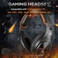 Игровая гарнитура Sades A2, проводные наушники 3,5 мм с регулируемым микрофоном на 120 °, стереозвук для PS4, нового Xbox, ПК, ноутбука