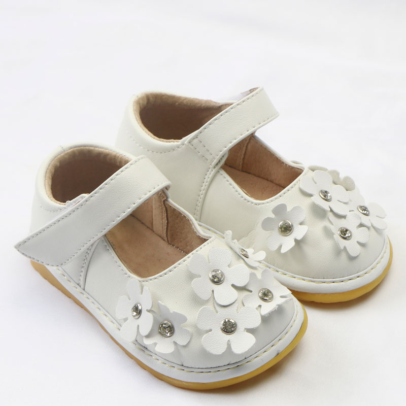 Squeaker Sneakers The Silver Flower Mary Janes