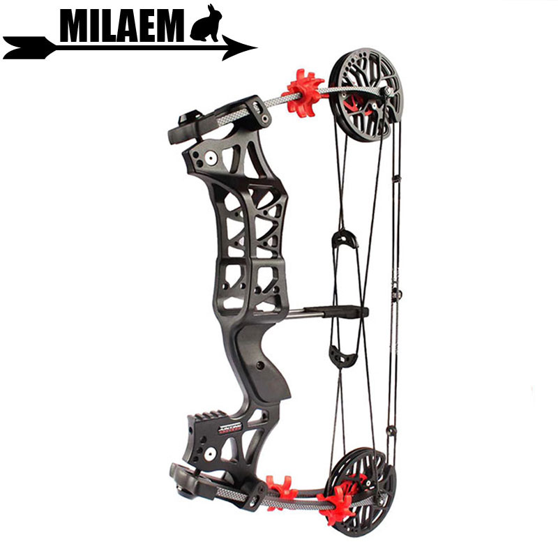 1Set 30 60lbs Archery Compound Bow M109E Steel Ball Bow IBO 345FPS Right Hand /Left Hand Shooting Accessories-in Darts from Sports & Entertainment