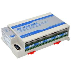 Lightning protection isolated bidirectional 16 way 16 port RS485 hub hub sharing device splitter