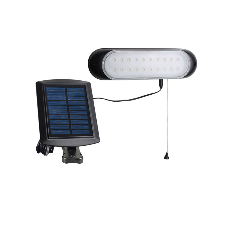 Outdoor Garden Solar Light Light Sensor Waterproof Solar Led Wall Light With Pull-wire Switch Security Wall Lamp
