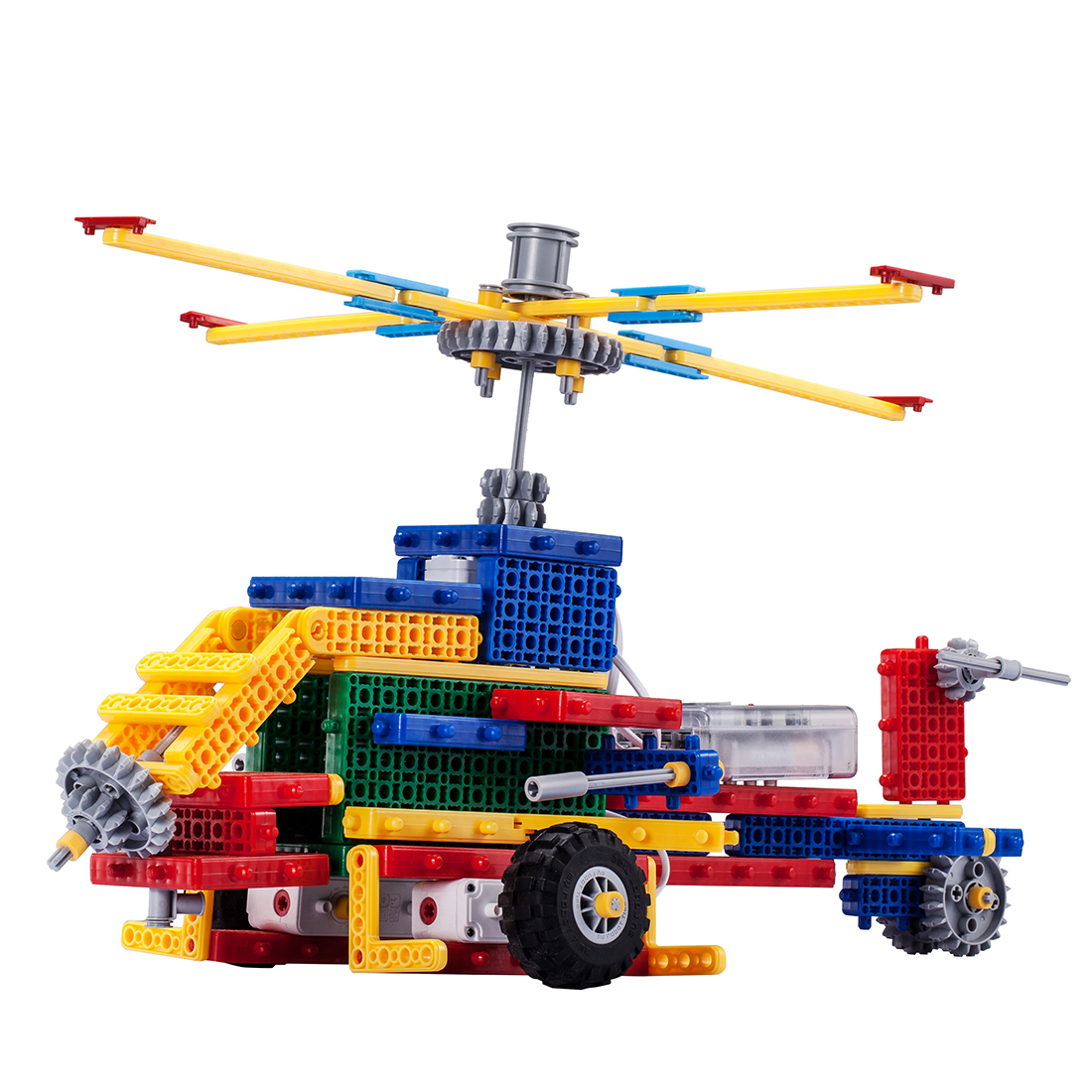 DIY Hand Made Science MRT 1-Brain FK Colorful Robots Bulding Block Kit Assembly Educational Robot Toy For Beginner 6-8 Years Old