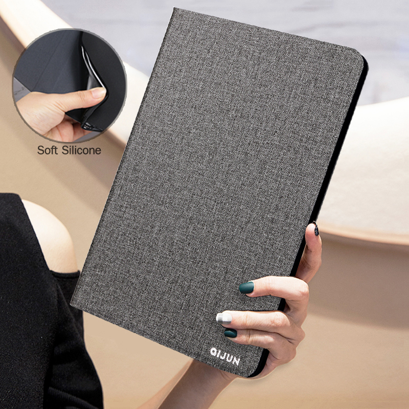 <font><b>Tablet</b></font> Case For <font><b>Samsung</b></font> <font><b>Galaxy</b></font> <font><b>Tab</b></font> <font><b>A</b></font> 9.7 inch SM-<font><b>T550</b></font> T555 T550C Retro Flip Stand PU Leather Silicone Soft Cover Protect <font><b>Funda</b></font> image