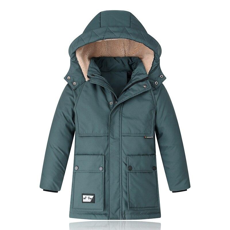 30 graus de inverno criancas casacos engrossar 04