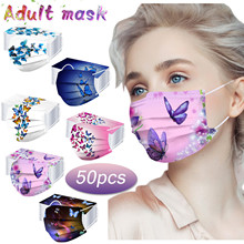 Headband Face-Mask Butterfly Mask-Protection Mascarillas Disposable Breathable Breathable