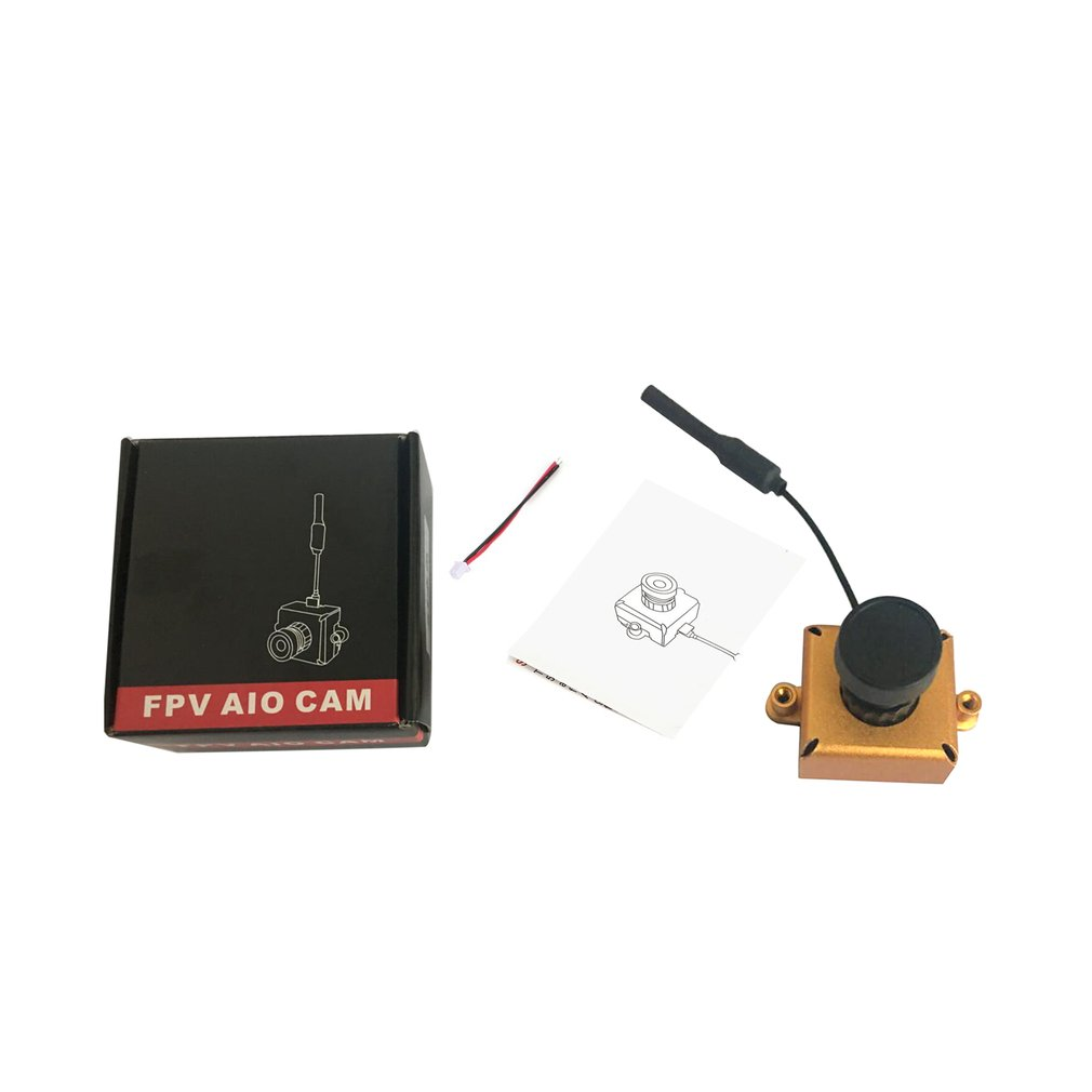 LST-S1 AIO 800TVL CMOS Mini FPV Camera CAM RC Toy Parts Accessories With 5.8G 40CH 25mW VTX 3dBi Whip Antenna