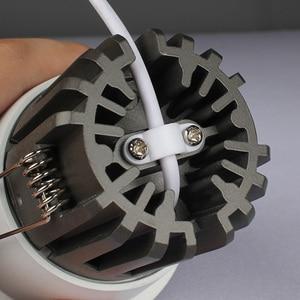 Image 4 - Aisilan светодиодный светильник фоновый Точечный светильник высокого качества алюминиевый точечный потолочный светильник кри чип