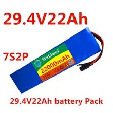 24 V 22ah оригинальный 7s2p 18650 батарея литий-ионный аккумулятор 22000mah 29,4 V Электрический велосипед/мотоцикла/Электрический зарядное устройство н...