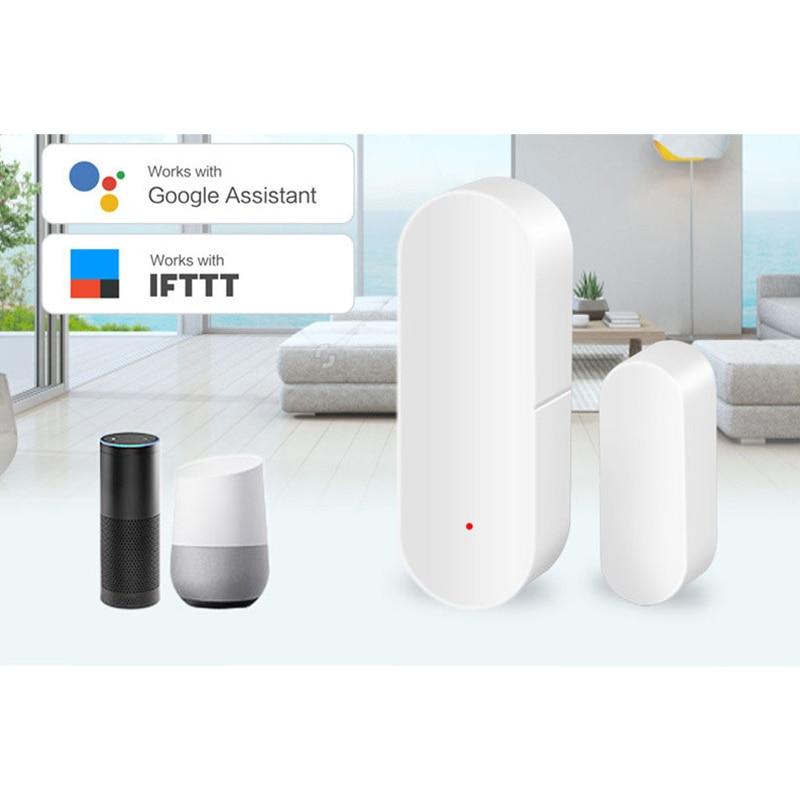 Smart Door/Window Detector WiFi App TuYa Notification Alerts For Home Security Sensor Support Alexa Google Home