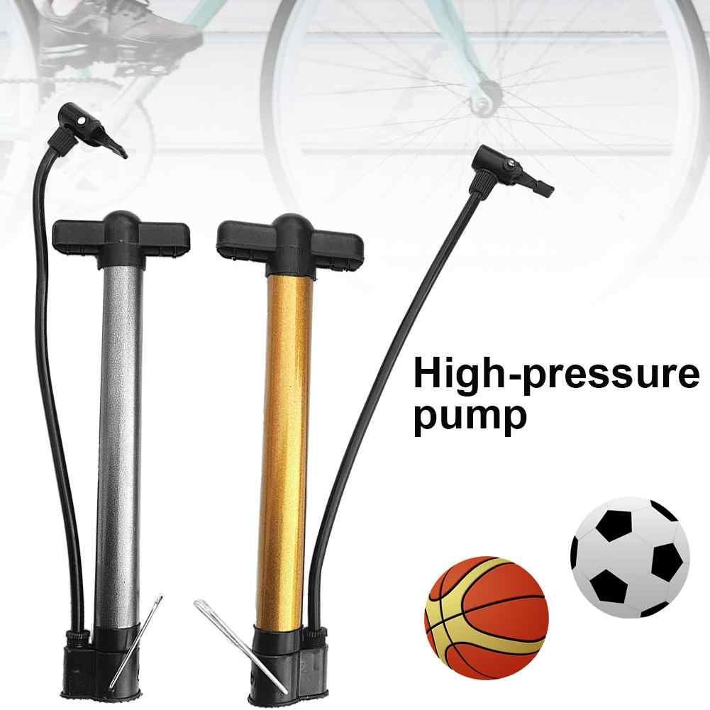 Hand  Cycling Ball Tire Inflator High Pressure MTB Bike  Mini Bicycle Pump