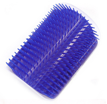 Cat Self Groomer Brush with Catnip Pet Massage Supplies Hair Removal Comb for Dog Cat Corner Groomer Cat Scratch Massager Tool 9