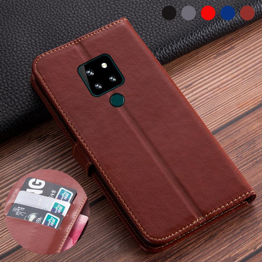 """Business Leather Flip Book Cover For Cubot P30 Case Phone Bag Protective card holder funda Cubot P30 4GB 64GB 6.3"""" wallet Case(China)"""
