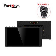Bezel-Monitor On-Camera DSLR Video Touch-Screen Portkeys P6 HDMI 1920x1080 LUT 3D 4K