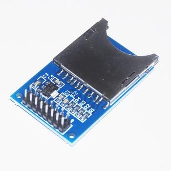 цена на Memory SD Card for Arduino Module Slot In Socket Reader Storage Card Shield SPI ARM MCU Reading Writing Board DIY Starter KIT