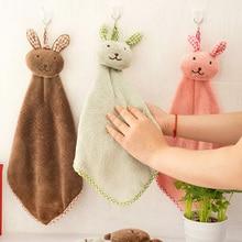 Bath-Towel Baby Cartoon Children Cute Wipe Rabbit Plush Soft Hanging Nursery Coral-Fleece