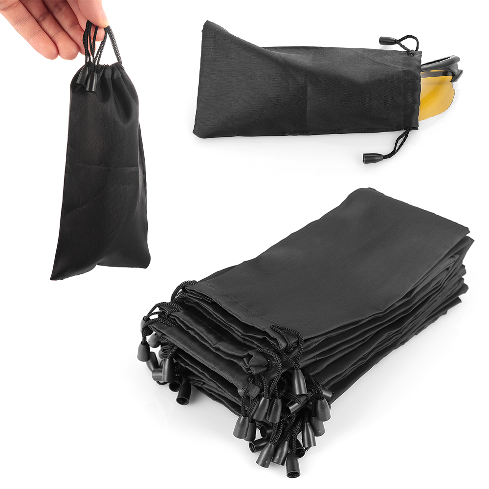 5/10/pcs Soft Cloth Waterproof Sunglasses Bag Microfiber Dust Storage Pouch Glasses Carry Bag Portable Eyewear Case Container