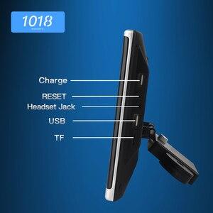 Image 3 - أندرويد OS سيارة راصد مسند الرأس مشغل فيديو USB/SD/FM TFT LCD شاشة رقمية تعمل باللمس زر لعبة التحكم عن بعد سيارة MP5 لاعب