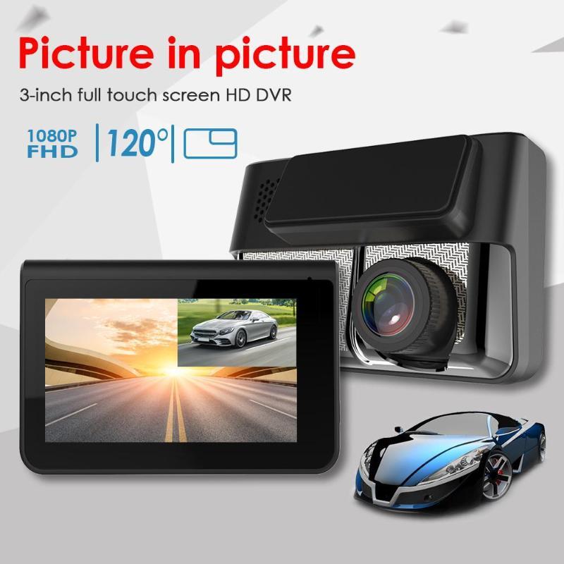 Caméra DVR Durable multifonction   Anytek A70 HD 1080P caméra de tableau de bord de voiture, lumière nocturne, Vision nocturne, Dashcam enregistreur