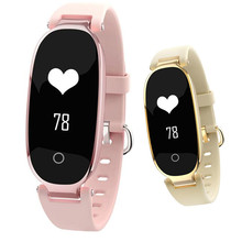 цена на Upgraded S3 plus Waterproof Lady Women Ladies Heart Rate Monitor Fitness Tracker Smart Watch watches smart band for Android IOS