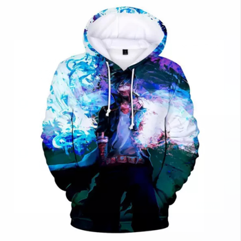 2020 Fashion 3D Print Pullover My Hero Academy Hooded Top Men / Womens Casual Hoodie Youth Campus Anime Sweatshirt