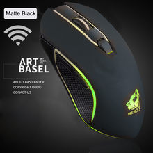 Mouse Nirkabel Isi Ulang X9 2400 Dpi Silent Mice LED Backlit USB Optical Ergonomis USB Gaming Mouse untuk Laptop PC 19NOV1(China)