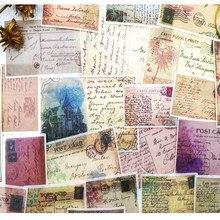60 pçs/saco diy vintage washi nota adesivos scrapbooking álbum de fotos diário feliz planejador material decoração adesivos