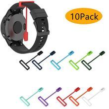 10 штук/упаковка анти-потерянный силиконовая Пылезащитная заглушка для наручных gps-часов Garmin Fenix 5X / fenix5plus ,fenix6x, fenix6x Баро, Зарядное устройство...