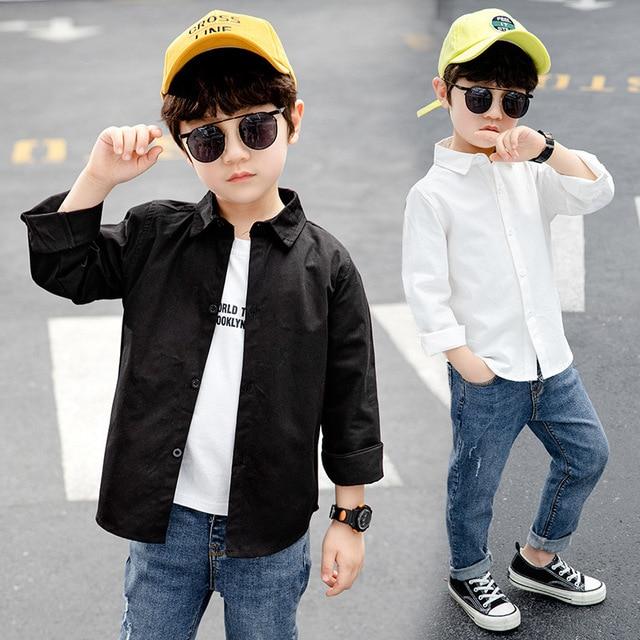 Children Boys Casual Shirts