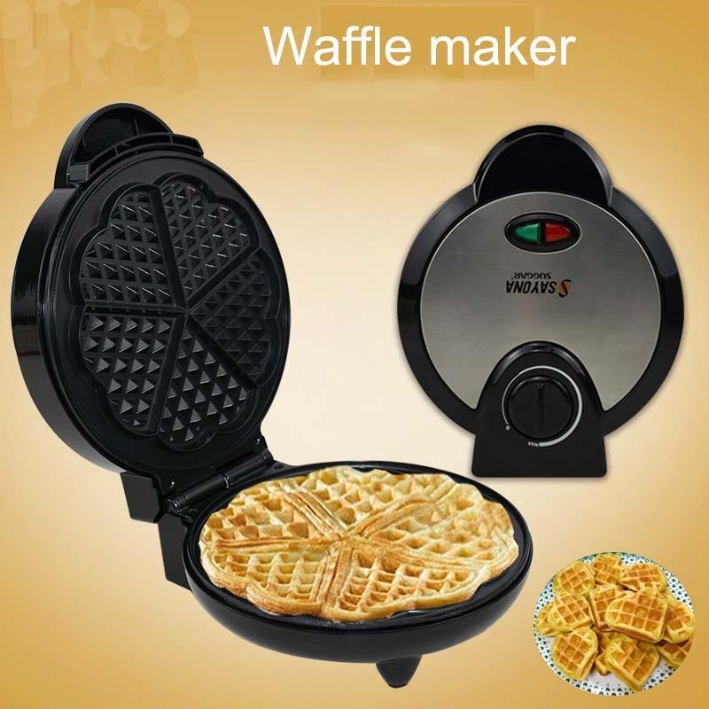 220 250V Electric Waffle Maker Muffin Machine Microcomputers Cake Pan Heating Baking Machine Kids Breakfast Kitchen