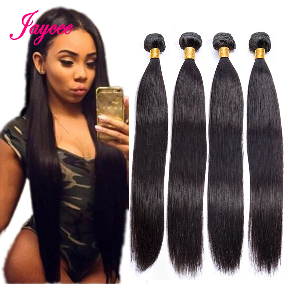 Brazilian Hair Weave Bundles Tissage Bresiliens Tissage Cheveux Humain 4 Bundles Straight Hair 100% Human Hair Weave Extensions