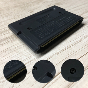 Image 3 - Cyborg adalet EUR etiket Flashkit MD akımsız altın PCB kartı forSega Genesis Megadrive Video oyunu konsolu