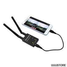 Skydroid 5.8Ghz 150CH True Diversity UVC OTG Smartphone FPV Ricevitore per Android Tablet PC VR Auricolare Sistema FPV RC drone(China)