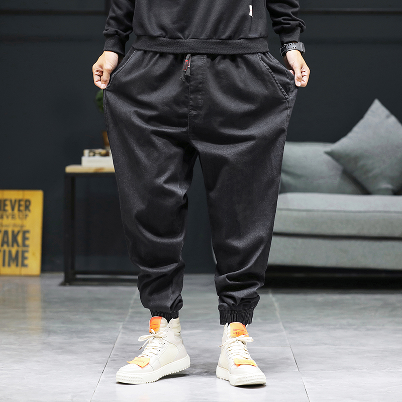Large Size 46 Spring Summer Jeans Men Fashion 2020 Stretch Men's Jeans Pants Hip Hop All Match Streetwear Casual Trousers