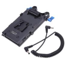FOTGA لوحة محول بطارية V Lock D tap ، لوحة تثبيت للبث ، كاميرا SLR HD