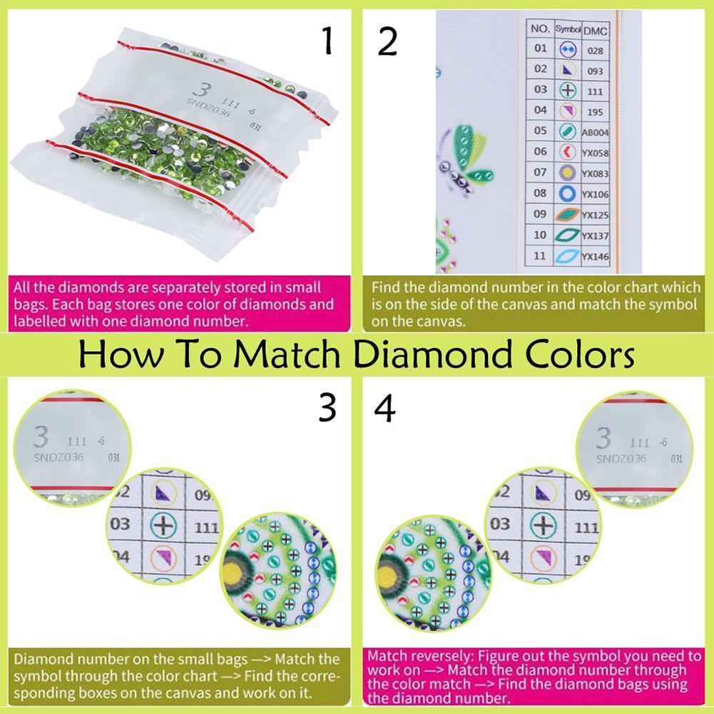 DIY Diamond Drill Painting Beauty Cross Stitch Diamond 3d Picture Handwork Rhinestone Art Mosaic Embroidery Diamond of C0F4