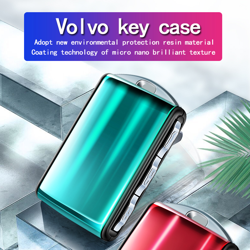 For Volvo XC40 XC60 XC90 V90 S90 T5 T6 T8 New resin high-end car key case smart remote protection package is suitable