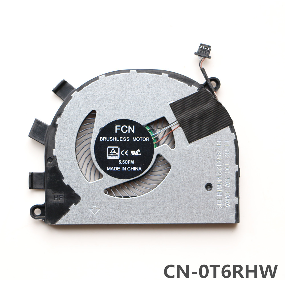 Laptop Replacement Cooler Fan For <font><b>Dell</b></font> Inspiron <font><b>5584</b></font> Cpu Cooling Fan CN-0T6RHW image